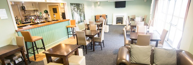 Watch Big Screen events or meet with friends in the main bar lounge